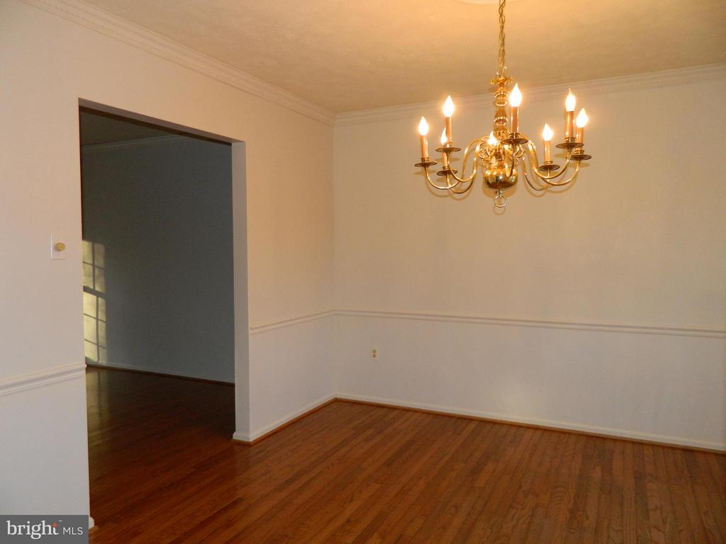 Dining Room with Hardwood Floors - 6490 MCKEE WAY, MANASSAS
