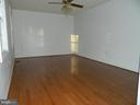Master Bedroom with Hardwood Floors - 6490 MCKEE WAY, MANASSAS