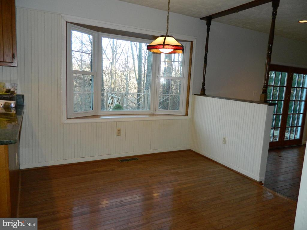 Breakfast Nook with Hardwood Floors - 6490 MCKEE WAY, MANASSAS
