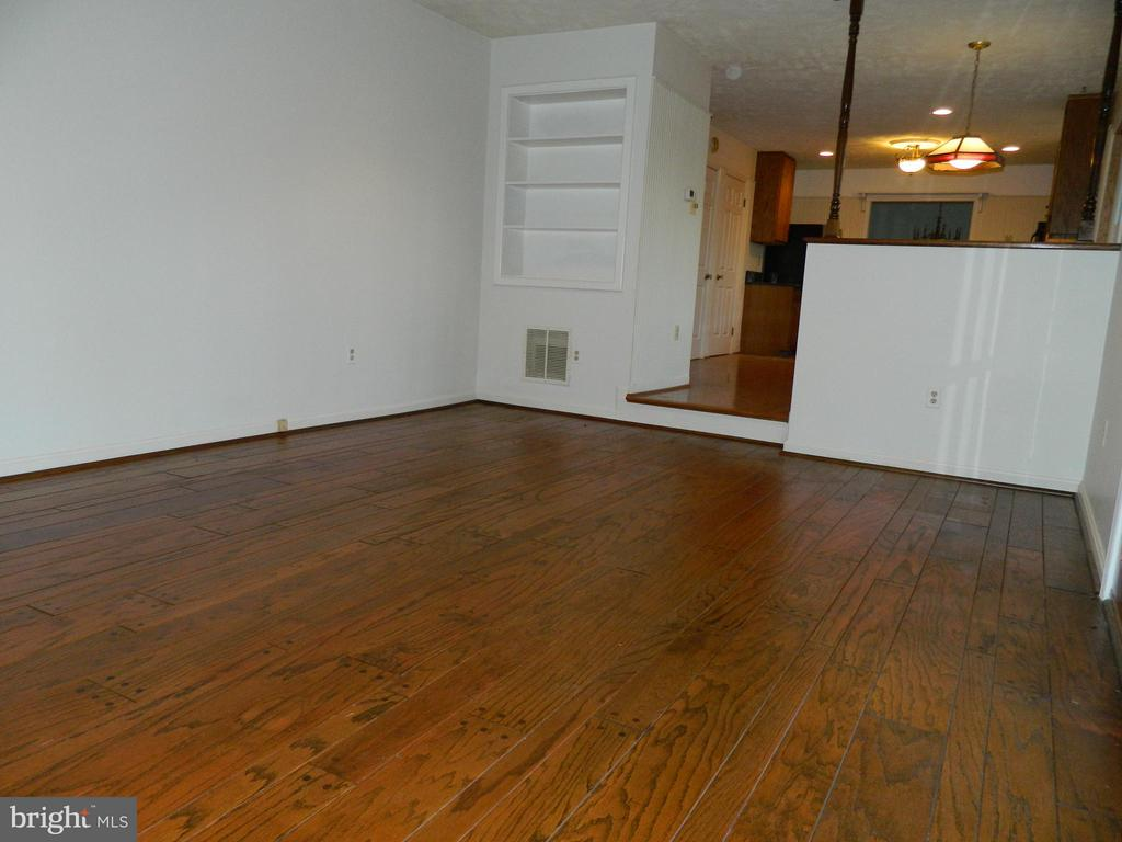 Family Room with Beautiful Pegged Wood Floors - 6490 MCKEE WAY, MANASSAS