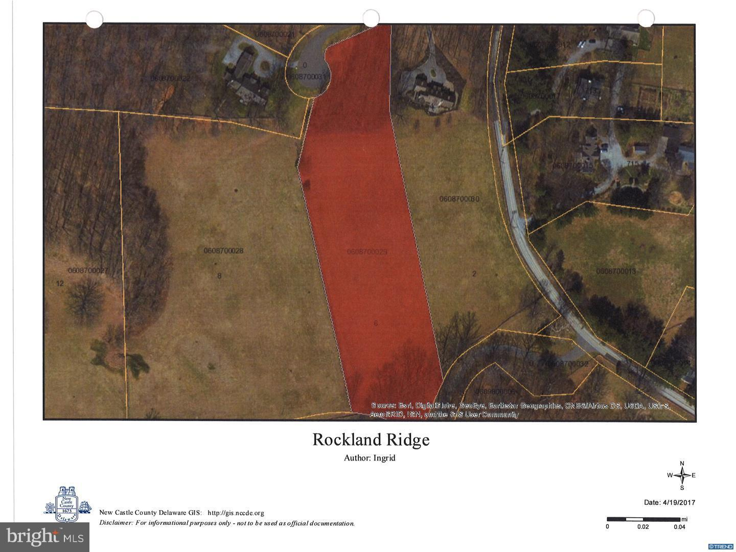 Land for Sale at Rockland, Delaware 19732 United States