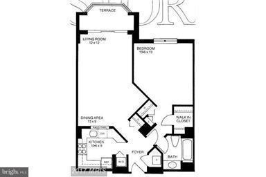 Reversed Floor Plan - 2100 LEE HWY #327, ARLINGTON