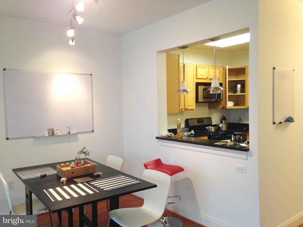 Dining Area - 38 MARYLAND AVE #214, ROCKVILLE