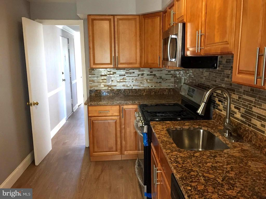 Kitchen with Inside Hallway - 5111 8TH RD S #401, ARLINGTON