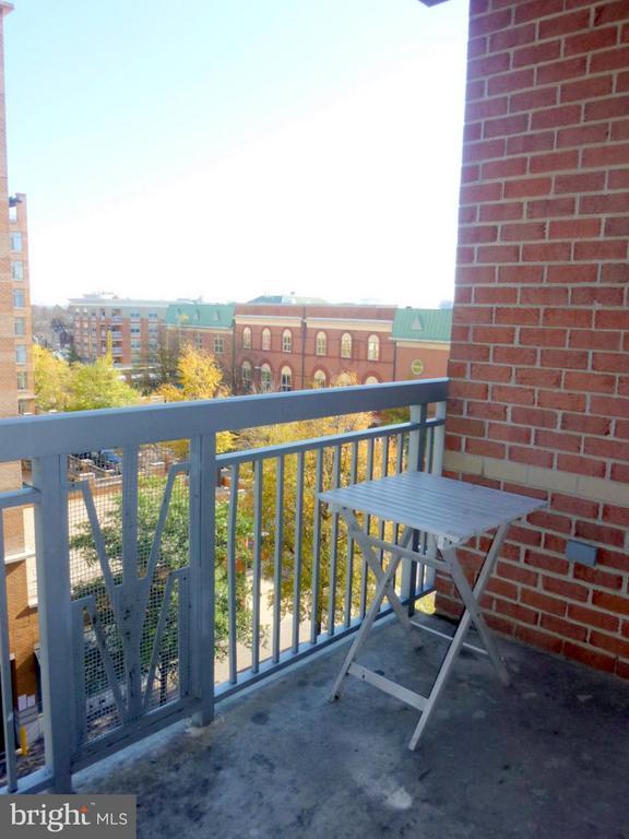 Large Balcony - 1020 N HIGHLAND ST #601, ARLINGTON