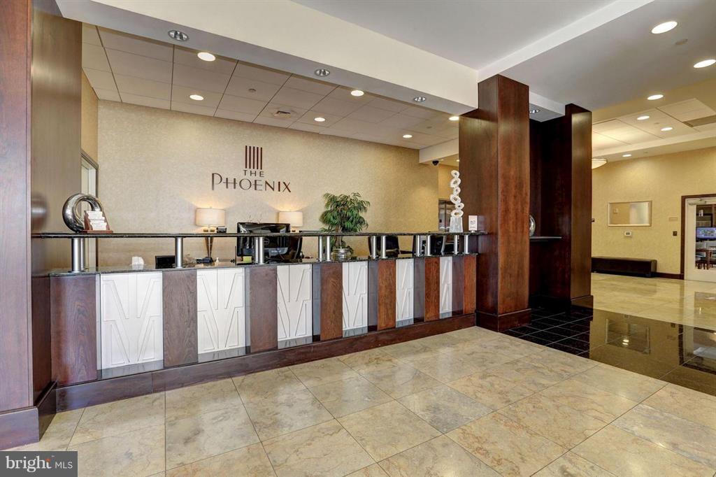 Reception area - 1020 N HIGHLAND ST #601, ARLINGTON