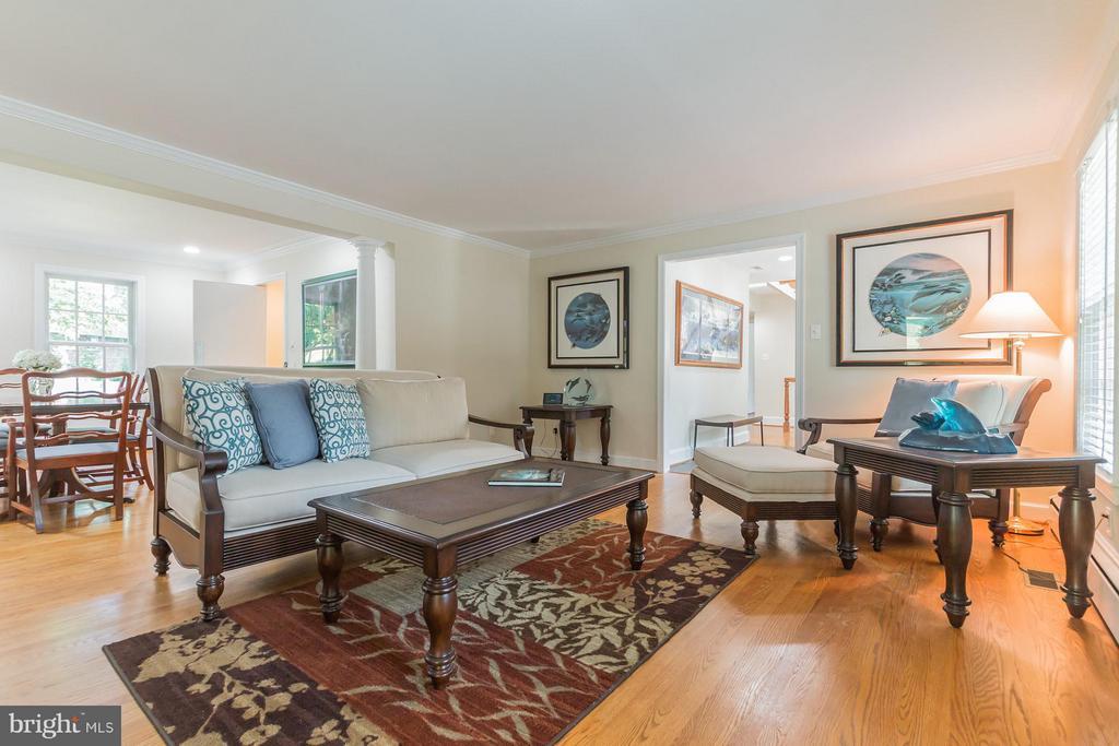 Living Room - 4357 26TH ST N, ARLINGTON
