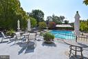 Pool with terrace/dining area - 2801 NEW MEXICO AVE NW #808, WASHINGTON