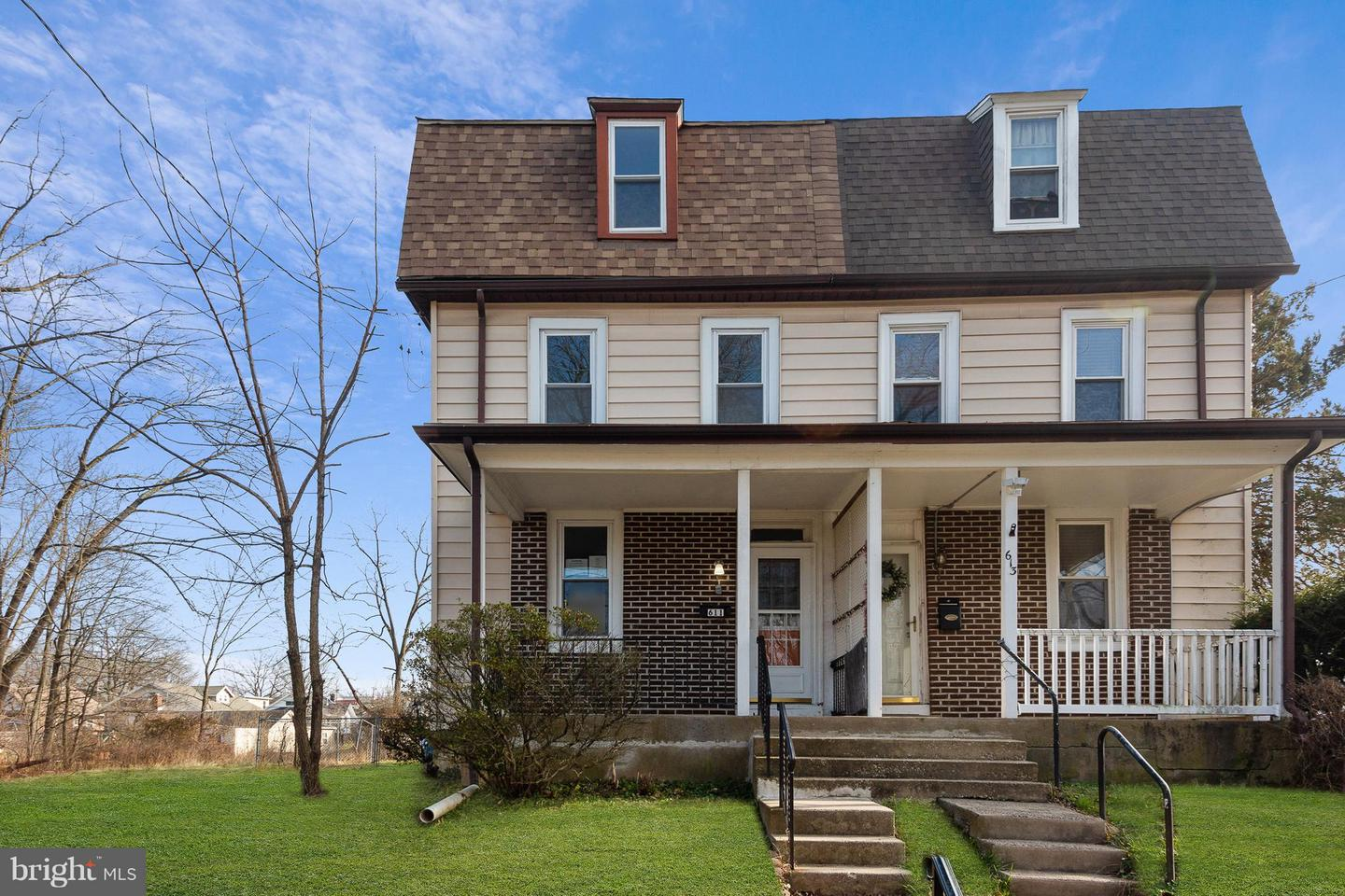 Photo of home for sale at 611 Green Street, Lansdale PA
