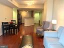 Spacious Living and Dining  Room - 1020 N HIGHLAND ST #601, ARLINGTON