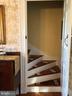 Back Staircase - 18483 SILCOTT SPRINGS RD, PURCELLVILLE