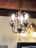 Upstairs Bathroom Chandelier - 18483 SILCOTT SPRINGS RD, PURCELLVILLE