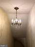 Back Staircase Chandelier - 18483 SILCOTT SPRINGS RD, PURCELLVILLE