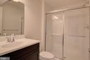 Basement Full Bathroom - 1406 CANOPY LN, ODENTON