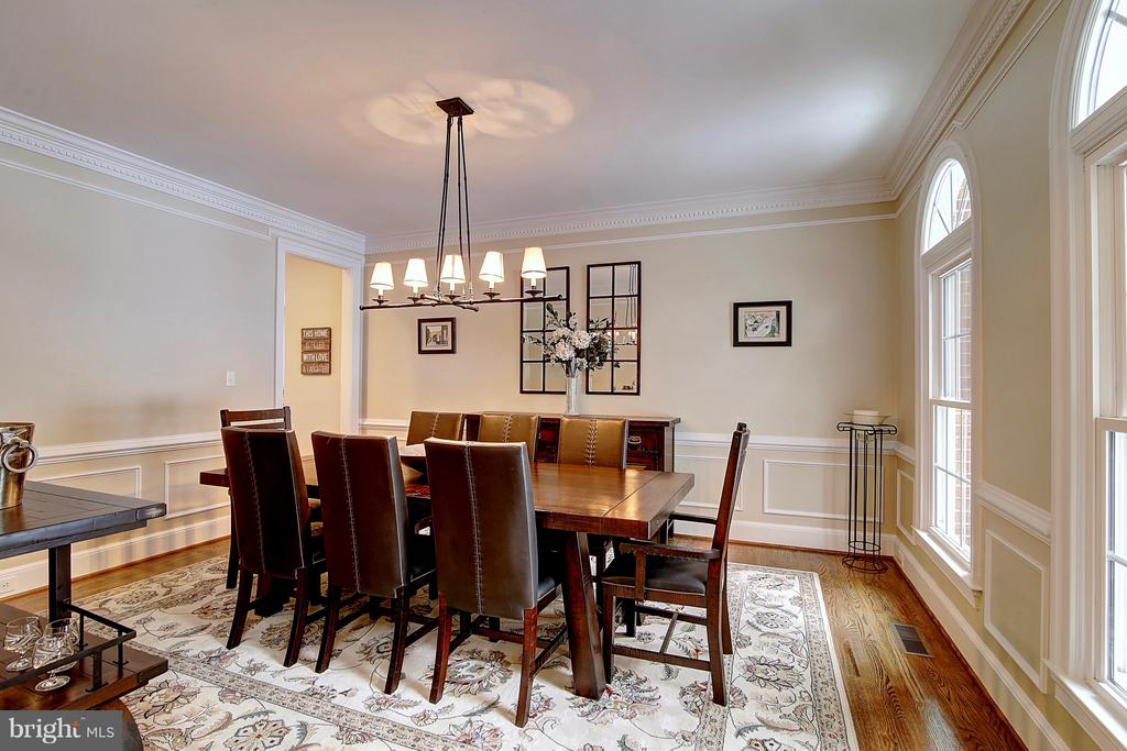 Spacious and cozy dining room - 1298 STAMFORD WAY, RESTON
