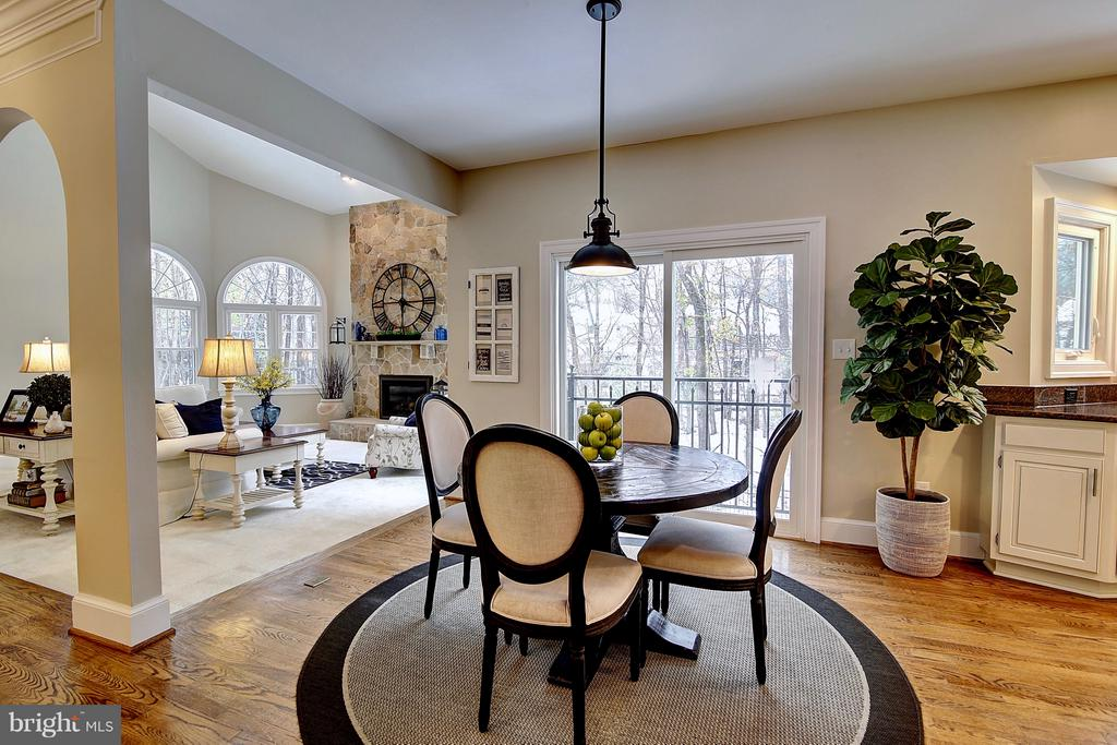 Breakfast room - 1298 STAMFORD WAY, RESTON
