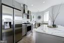 LARGE kitchen - 549 PARK RD NW #3, WASHINGTON