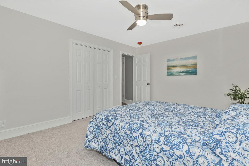 Master Bedroom-New Ceiling Fan. - 4 E 13TH ST, FREDERICK