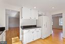 Granite Kitchen with recessed lights - 5833 NEW ENGLAND WOODS DR, BURKE