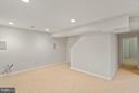 RecRoom with view of Private Den - 5833 NEW ENGLAND WOODS DR, BURKE