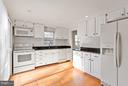 Well equipped Kitchen w/SGDs to Deck & Yard - 5833 NEW ENGLAND WOODS DR, BURKE