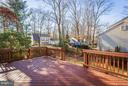 Entertainment Deck - 5833 NEW ENGLAND WOODS DR, BURKE