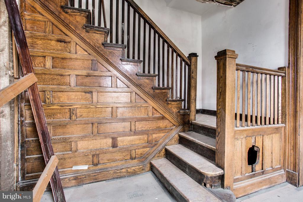 Original Artsy Staircase - 700 RANDOLPH ST NW, WASHINGTON