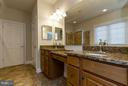 Master Bathroom w/Granite Counters - 36 DENISON ST, FREDERICKSBURG
