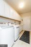Laundry Room w/Built In~ Cabinets - 36 DENISON ST, FREDERICKSBURG