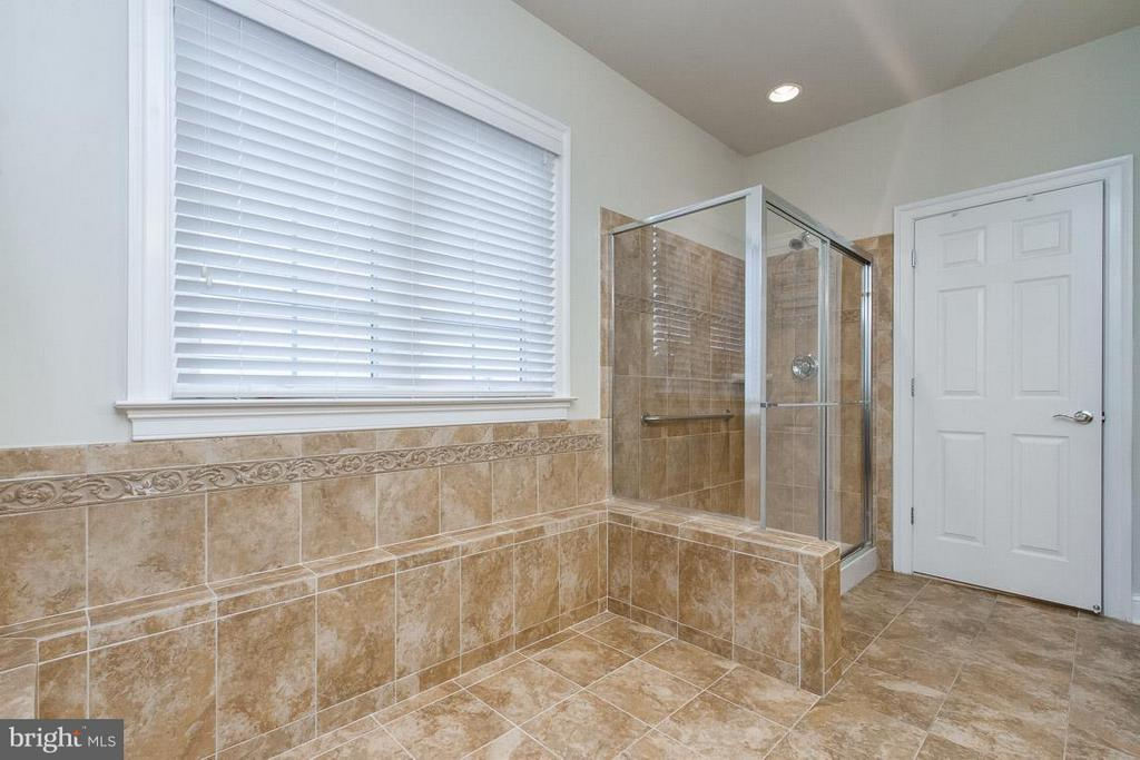 Master Bathroom w/Glass Shower - 36 DENISON ST, FREDERICKSBURG