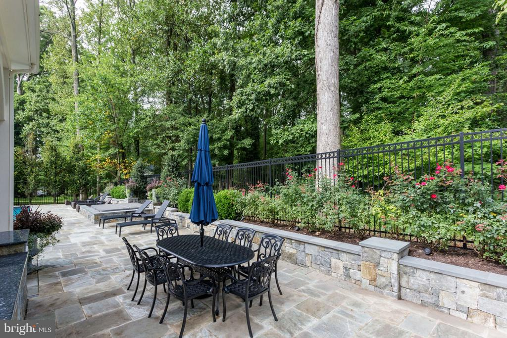 Private Outdoor Patio - 8518 WEDDERBURN STATION DR, VIENNA