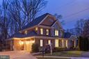 Twilight View of Front of Home on Cul De Sac - 8518 WEDDERBURN STATION DR, VIENNA