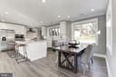 Open Concept Gourmet Kitchen - 7821 FORT HUNT RD, ALEXANDRIA