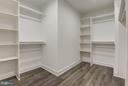 1 of 2 Large Walk-in Closets in the Owners Suite - 7821 FORT HUNT RD, ALEXANDRIA