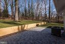 View of the Back Yard from the Large Patio - 7821 FORT HUNT RD, ALEXANDRIA