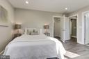 Walk-in Closet in Bedroom 2 - 7821 FORT HUNT RD, ALEXANDRIA