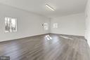 The Bonus Room has Wide Plank Floor and New Window - 7821 FORT HUNT RD, ALEXANDRIA
