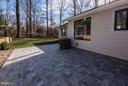 Large Patio - Stone Look Anti-Slip Porcelain Tile - 7821 FORT HUNT RD, ALEXANDRIA