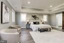Tray Ceiling, Crown Molding, Sitting Area - 7821 FORT HUNT RD, ALEXANDRIA