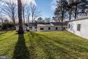 Yard, Back of the House, Bonus Room and Garage - 7821 FORT HUNT RD, ALEXANDRIA