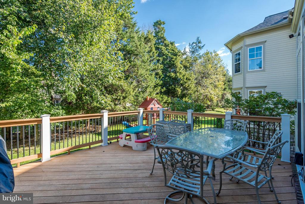 Beautiful Lot Backs to Trees!  Huge Deck! - 42730 EXPLORER DR, ASHBURN