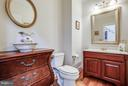 Main floor powder room - 417 FOREST LANE RD, FREDERICKSBURG
