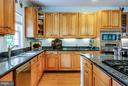 Custom cabinets, features two sinks - 417 FOREST LANE RD, FREDERICKSBURG
