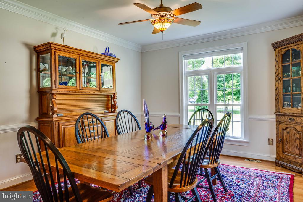 Breakfast Room - 417 FOREST LANE RD, FREDERICKSBURG