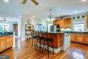 w/ built in cutting boards and custom storage - 417 FOREST LANE RD, FREDERICKSBURG