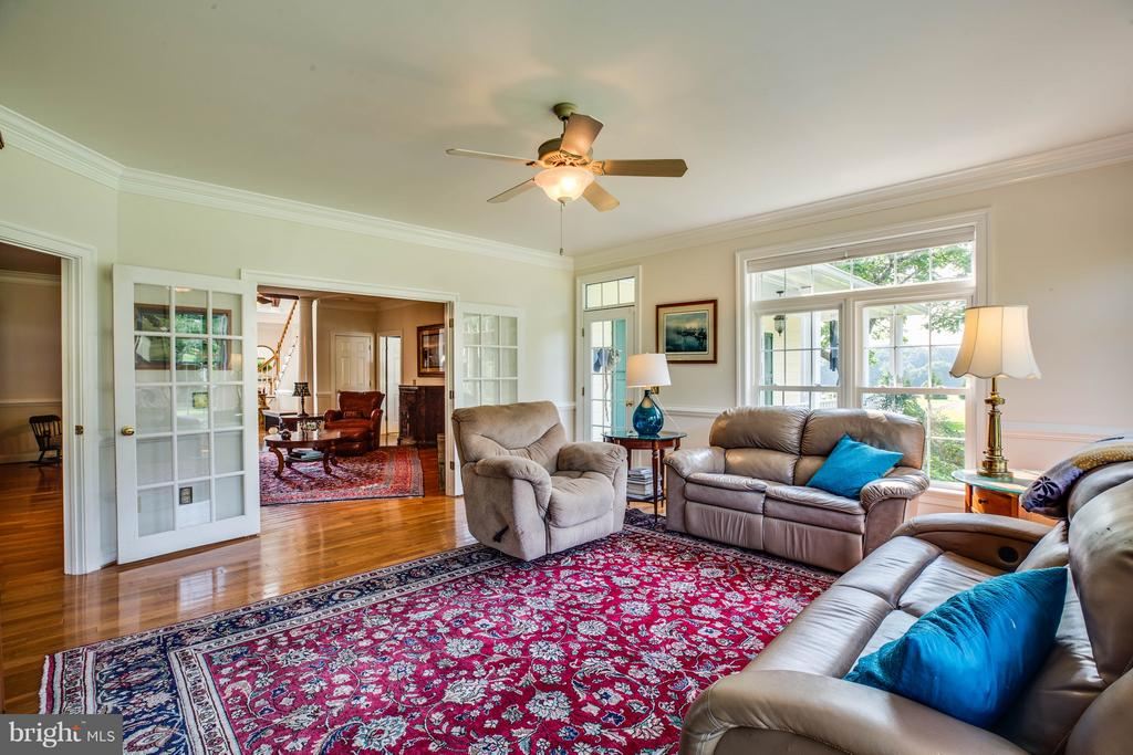Open concept floor plan - 417 FOREST LANE RD, FREDERICKSBURG