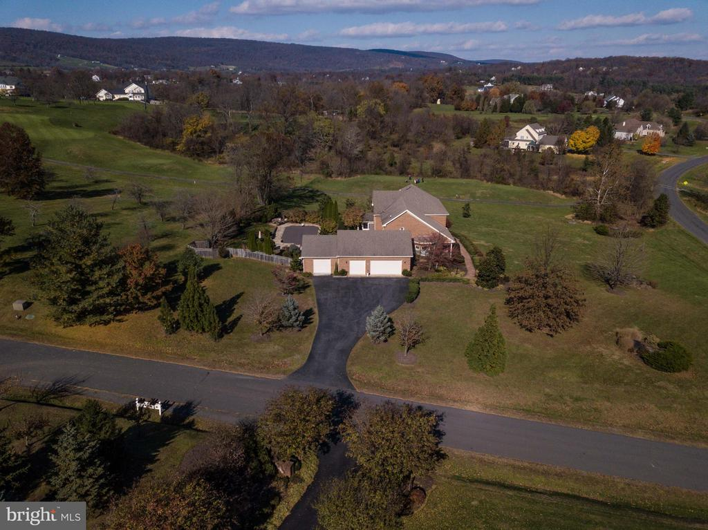 4 Car Garage, Golf Course on Right of Property - 35190 DORNOCH CT, ROUND HILL