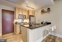 Gourmet Kitchen w/ Additional Seating - 809 6TH ST NW #61, WASHINGTON