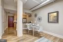 Open Dining/Living Area - 809 6TH ST NW #61, WASHINGTON