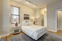 Owner's Bedroom w/ Oversized Windows - 809 6TH ST NW #61, WASHINGTON